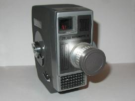 Retro 8mm kino kamerai Canon,eumig,bell & Howell.