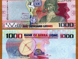 Siera Leone 1000 Leones 2010m. P30 Unc