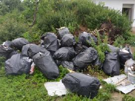 Statybinių siukšlių- atliekų išvežimas - nuotraukos Nr. 4
