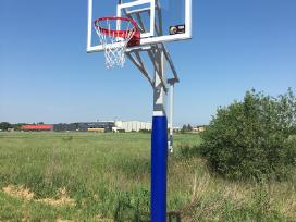 Rimtas krepšinio stovas prie namų - nuotraukos Nr. 3