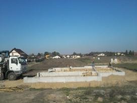Pamatu muro laiptu tvoru irengimas betonavimas
