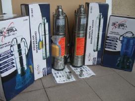 New benzininiai Mar Pol vandens siurbliai + Dovana