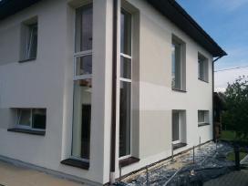 Fasadų siltinimas namo siltinimas pastatu