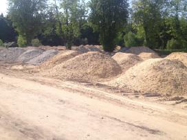 Juodžemis, smėlis, žvyras, skalda, gruntas