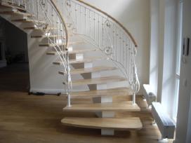 Laiptai/vartai/tvoros - projektavimas ir gamyba