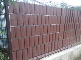 Segmentinės tvoros panelės gera kaina - nuotraukos Nr. 3
