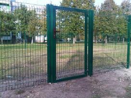 Segmentinės tvoros panelės gera kaina - nuotraukos Nr. 5