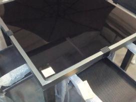 Stiklinis lauko stalas