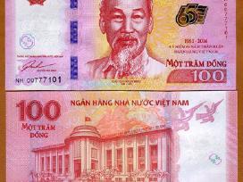 Vietnamas 100 Dong 2016m. Unc Proginė