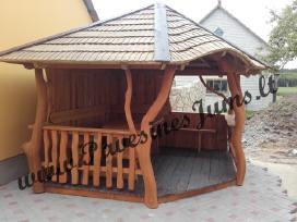Pavėsinė, pavesines, lauko baldai