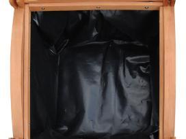 Medinis vazonas, 30 x 30 x 30 cm, 2 vnt., vidaxl