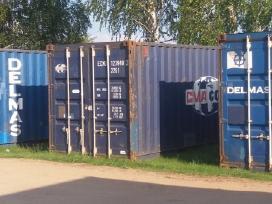 Buitiniai ir biuro, sandėliavimo konteineriai