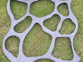 Sodo takelių formos, betono trinkelių formos