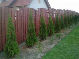 Segmentines tvoros montavimas Pigiau.