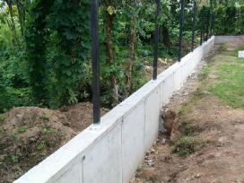 Atraminės sieneles,tvoros Vartai vartelei