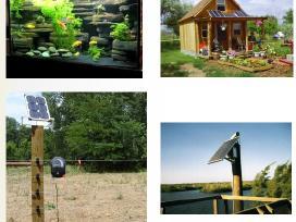 Saulės elektros baterija 20w jėgainė - elektrinė - nuotraukos Nr. 8