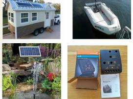 Saulės elektros baterija 20w jėgainė - elektrinė - nuotraukos Nr. 9