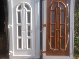 Langai nauji, naudoti,lauko durys naujos