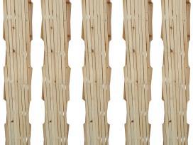 Išskleidžiama Medinių Pinučių Tvora 180 x 90 cm