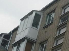 Balkonų stiklinimas,langai,orlaidės,durys,terasos.