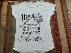Nauji stilingi moteriški marškinėliai
