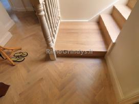 Parketo šlifavimas, medinių grindų atnaujinimas