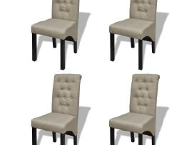 4 Senovinio Stiliaus Valgomojo Kėdės, vidaxl