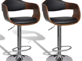 2 Odinės Baro Kėdės, vidaxl
