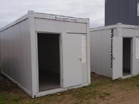 Naujas biuro - buitinis konteineris