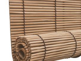 Rudas Roletas iš Bambuko 80 x 160 cm, vidaxl