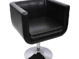 Reguliuojamas Modernus Fotelis, Juodas, vidaxl