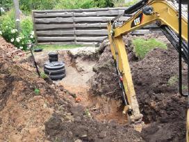 Vandentiekio, kanalizacijos, drenažo darbai