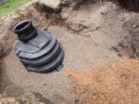 Vandentiekio,kanalizacijos darbai