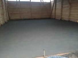 Grindu,pamatu betonavimas Utenos rajone
