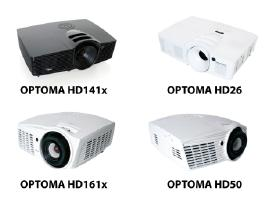 Optoma Hd144x Benq Epson HD projektorius