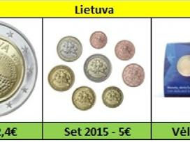 Lietuva 2 euro monetos Unc - nuotraukos Nr. 2