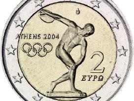 Graikija 2 euro monetos Unc