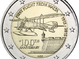 Malta 2 euro monetos Unc