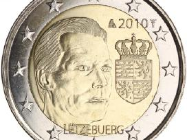 Liuksemburgas 2 euro monetos Unc