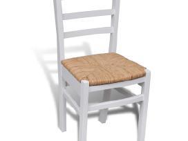Dažytos Medinės Valgomojo Kėdės 241253 vidaxl - nuotraukos Nr. 3