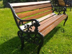 Lauko-terasos baldai-suoliukai