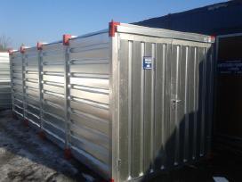 Metalinis-cinkuotas konteineris sandelis Akcija