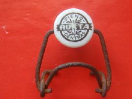 Prieškario porcelianinis kamštelis