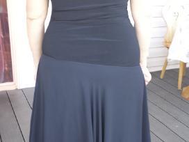 Juoda puošni suknelė - nuotraukos Nr. 2