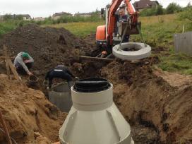 Žemės kasimo darbai Klaipėdos apskrityje