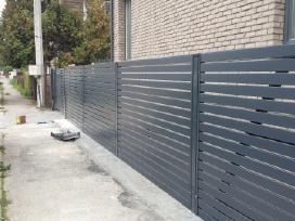 Metalinės tvoros 59 Eur/m2