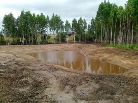 Kasame tvenkinius, zemes kasimo darbai
