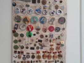 Ženkliukų ir apdovanojimų kolekcija (antikvariniai