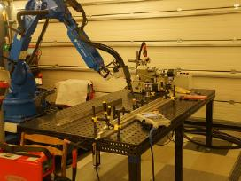 Suvirinimas robotu , robotinis suvirinimas .