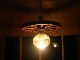 Vežimo ratas šviestuvas - nuotraukos Nr. 8